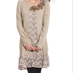 Sweater Dress-Lots of Fun Details!
